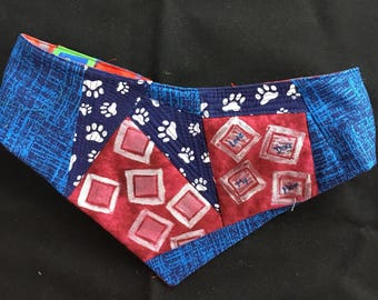 QK5-1731 XL Love My Dog Mom Quilt-Kerchief