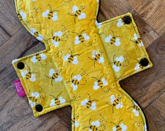 Postpartum Pad 12 Heavy Absorbency Women/'s Health Waste Free Period Cloth Menstrual Pad Overnight Pad Eco Friendly Period