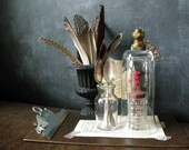 RESERVED FOR MARILYNE - Cloche with Vintage Water Nozzle