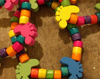 Hash Feet Beach Bracelets