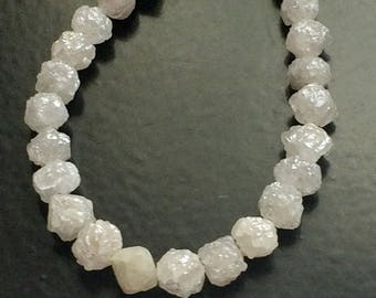 Rough Diamond Rough Diamond Beads 6mm Bead Pair Big Hole