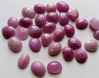 16 Carats Natural Sapphire Flat Slice s Fine Jewelry Pink Sapphire Slice Beautiful Rosemary Sheen Pink Sapphire Gemstone Slice