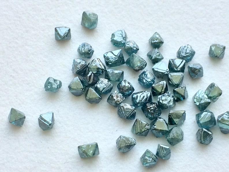 226924b12da691 5 szt niebieski szorstki kryształ diament 2-2.5 mm niebieski | Etsy