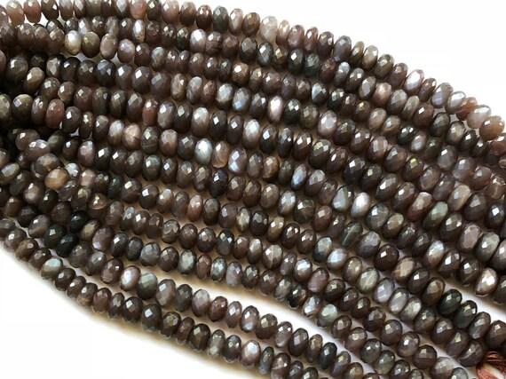 piedras preciosas semipreciosas Arco Iris Facetas Rondelle 3.75mm