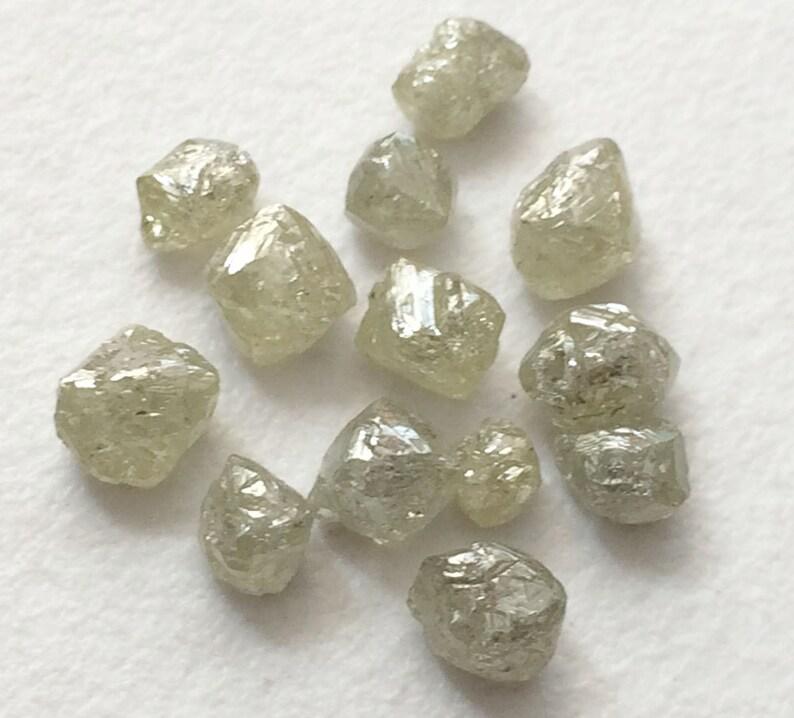 433c40d94726a9 Hurtownia 10 CTW 20 szt szary biały kryształ diament surowe | Etsy