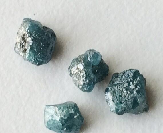 e77143f8329ebc Niebieski diament niebieski surowy diament kryształ | Etsy