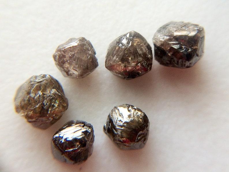 1015d49ea0ebd7 2 szt brązowy kryształ diament brązowy szorstki kryształ | Etsy