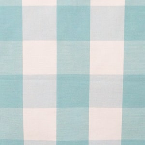Blue Bell Gingham Check Cotton Fabric By The Yard,Upholstery Fabric,Drapery Fabric,Shower Curtain Fabric,Wholesale Fabric,Pure Cotton Fabric