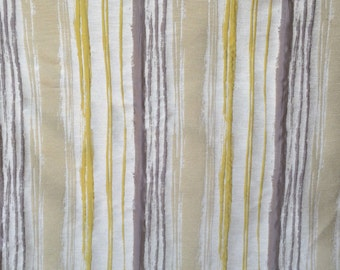 Chartreuse Stripes Curtain Fabric By The Yard Upholstery Fabric Drapery Fabric Window Treatment Fabric Sofa Fabric Pillow Wholesale Fabric