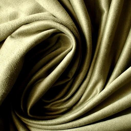 olive green wildleder stoff fake suede stoff imitation. Black Bedroom Furniture Sets. Home Design Ideas