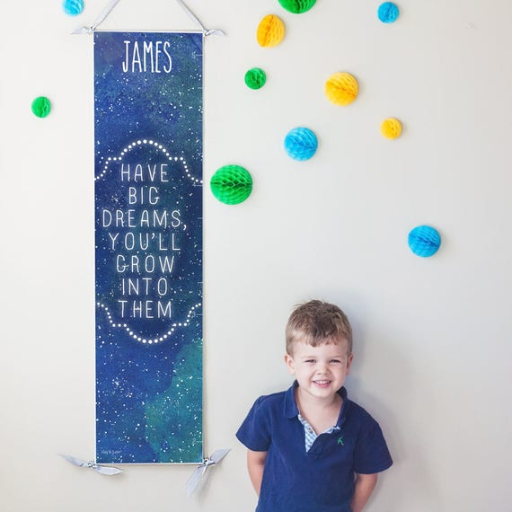 "Starry ""Have Big Dreams"" growth chart"