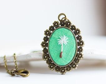 Paardebloem zaad ketting - Botanical sieraden voor romantische meisje n071