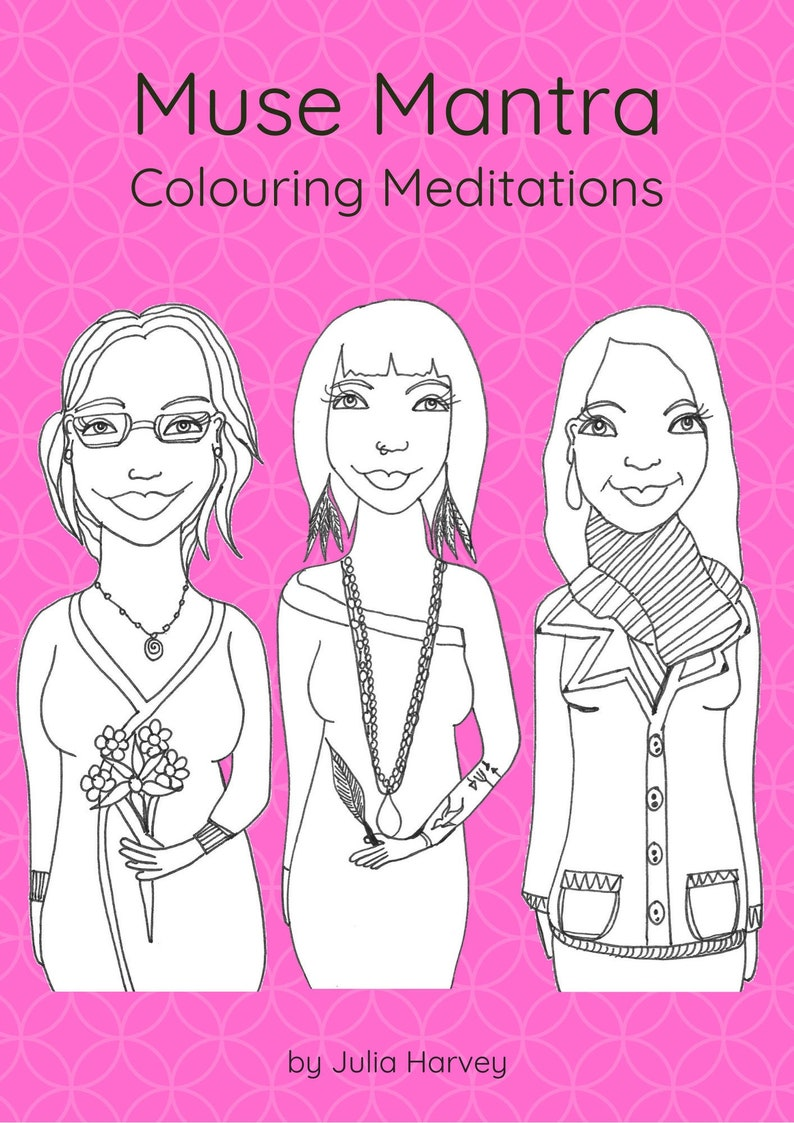 PDF Muse Mantra Colouring Meditations  download only image 0