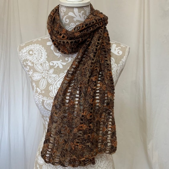 Chocolate cashmere with pops of gold, grey and taupe