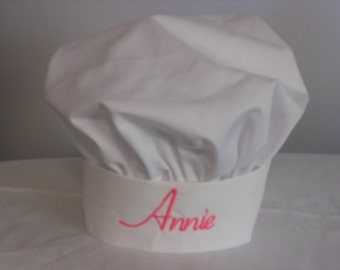 Personalized Childs Chef Hat