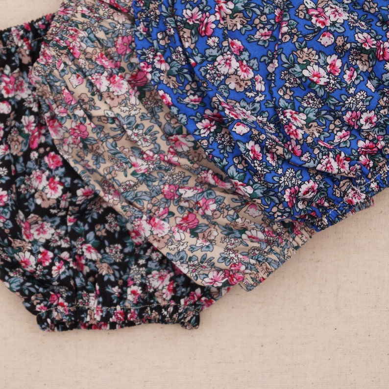 Baby girl bloomers baby bloomers floral bloomers