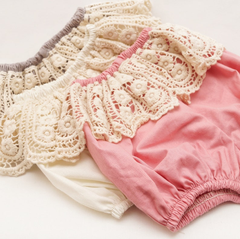 cake smash outfit girl Frill Lace baby bloomers