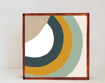 boho nursery art, southwest nursery decor, geometric art for nursery- abstract- geometric nursery  southwestern wall art- redtilestudio