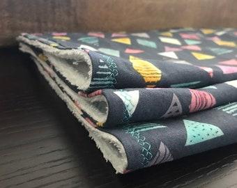 Baby Burp Cloth // Organic Cotton //Customized