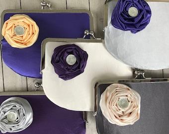 Custom Bridal & Bridesmaid Clutches