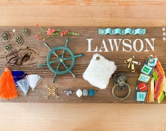 Baby Busy Board // Personalized and Handmade, Non-Toxic, Sophisticated Design