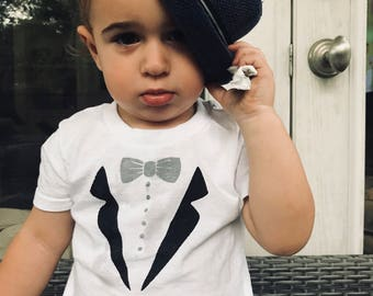 Fancy Toddler T-Shirt and Baby Bodysuit