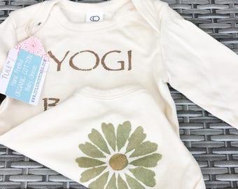 Organic Cotton Baby Onesie-Yogi Baby