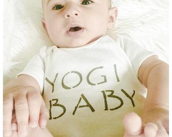 Organic Cotton Baby Bodysuit // Yogi Baby