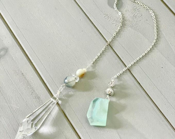 Featured listing image: Pendulum // semi precious stones