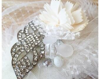 Birdcage Veil // Vintage Wedding Hair Accessory