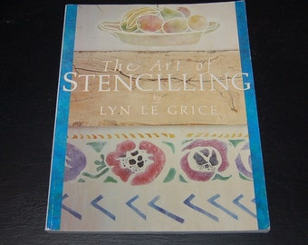 SALE The Art of Stenciling, Sophisticated Stenciling for the Home or Business