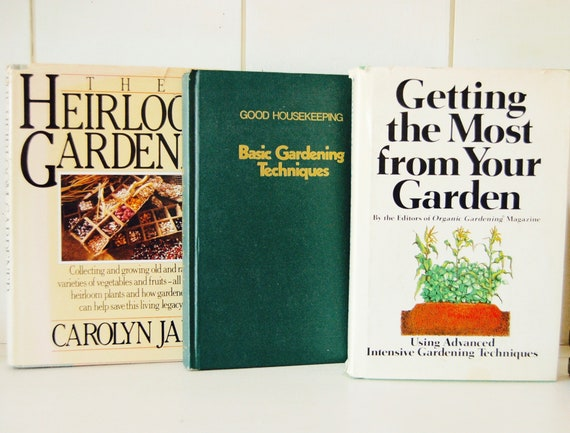 Items similar to 3 Vintage Gardening Books, in VG Condition