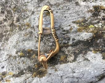 Roman , Viking , Outlander Fibula Shawl Pin