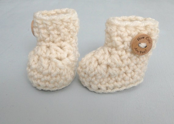 Crochet Pattern Baby Booties Pattern Shoes Quick Easy Etsy
