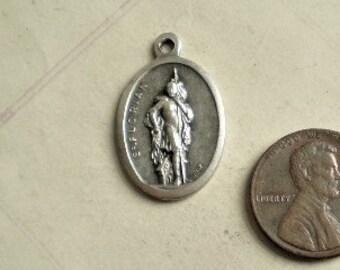 Schutzpatron der Feuerwehr Florian Set Talisman gold /& silber Coin Hl