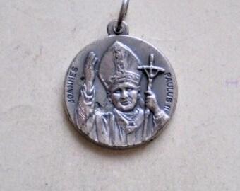 Joannes Paulus Medal Etsy