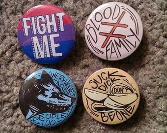 Sirius inspired pins