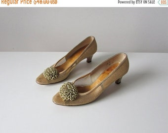 SALE Party Girl / 60s shoes/ vintage 1960s party shoes