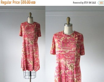 SALE Pink Dreams / 60s dress / vintage 1960s dress