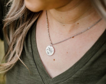 Silver Zodiac Constellation Necklace, Astrology Jewelry, Zodiac Sign Necklace, celestial necklace,  Zodiac Pendant, Constellation Jewelry