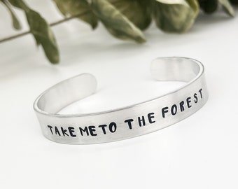 Nature Jewelry, Nature Bracelet, Forest Jewelry, Forest Bracelet, Outdoor Jewelry, Mountain Jewelry, Traveler gift, Adventure gift