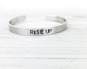 Rise Up Bracelet, Rise up, Rise Up Jewelry, Inspiration Jewelry, Motivation, Motivation Bracelet, Motivation Jewelry, Theater Gift
