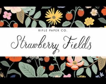 Strawberry Fields cotton Bundle of 20 prints,  Rifle Paper Co, 100% quilting cotton, Cotton & Steel