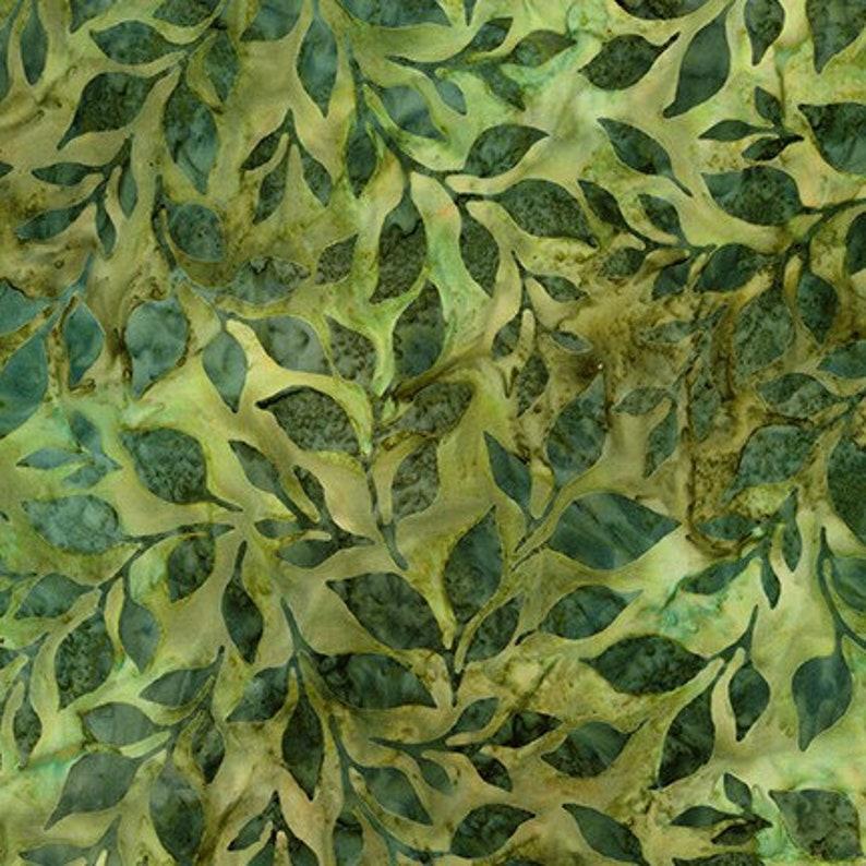 Artisan Batik 18792-43 LEAF by Lunn Studios Combed Cotton image 0