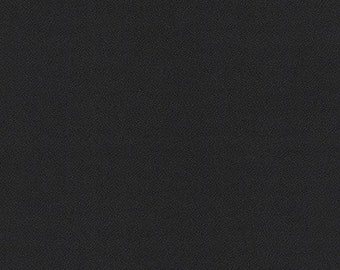 NEW ORGANiC Solid Flannel, M263-1019 BLACK from Mammoth Collection, Apparel fabric, Fabric by Yards, Robert Kaufman