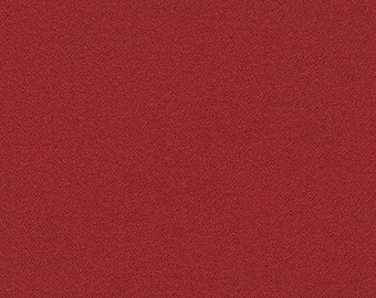 NEW ORGANiC Solid Flannel, M263-1091 CRIMSON from Mammoth Collection, Apparel fabric, Fabric by Yards, Robert Kaufman