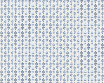 PREORDER ship end DEC, RP709-BL5 Petal - Blue Fabric, Camont Collection, Cotton and Steel, Quilting Weight Cotton