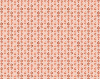 PREORDER ship end DEC, RP709-OR3 Petal - Orange Fabric, Camont Collection, Cotton and Steel, Quilting Weight Cotton