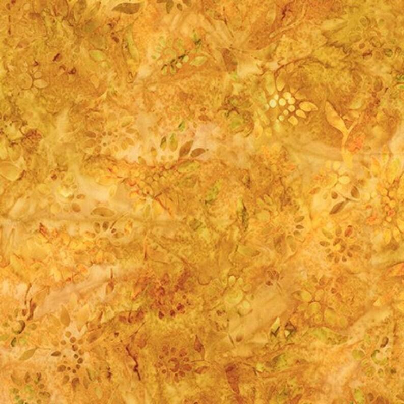 Artisan Batik 18794-133 GOLD by Lunn Studios Combed Cotton image 0