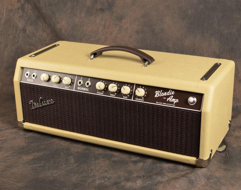 Deluxe Amplification Handwired '64 Blonde Bassman 6G6-B Custom Clone Guitar  Tube Amp Head Blondie boutique tube amp